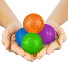Hand exercise ball